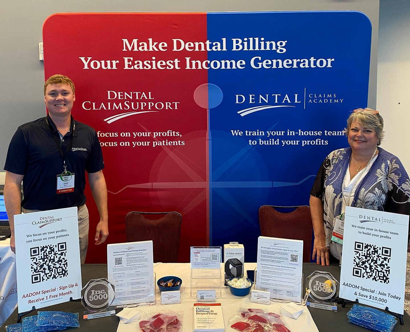 What did Dental ClaimSupport learn at the AADOM conference?