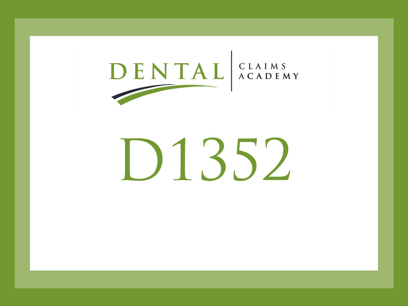 Examining CDT Code D1352: What is the difference between a Sealant vs Preventive Resin Restoration vs Filling?